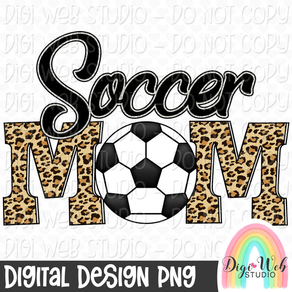 Soccer Mom - Digital Sublimation Printable