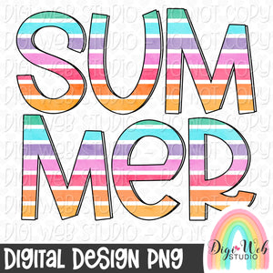 Summer - Digital Sublimation Printable