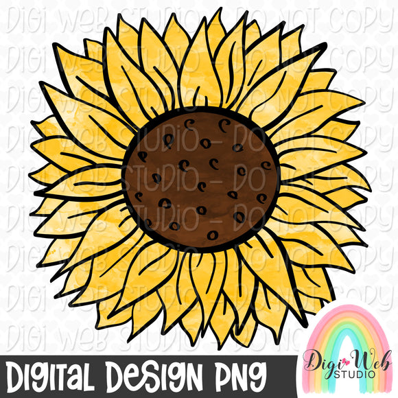 Sunflower - Digital Sublimation Printable