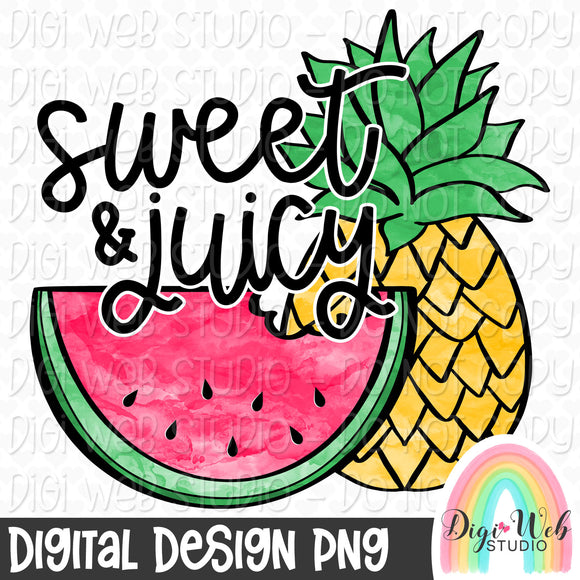 Sweet & Juicy - Digital Sublimation Printable