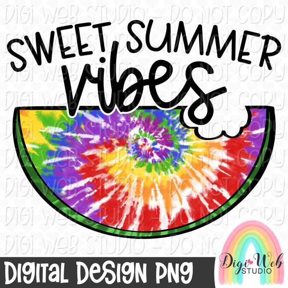 Sweet Summer Vibes - Digital Sublimation Printable