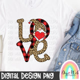 Valentine Love Gnome - Digital Sublimation Printable