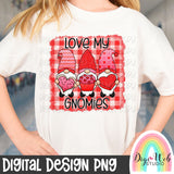Love My Gnomies - Digital Sublimation Printable