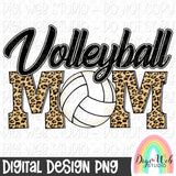 Volleyball Mom - Digital Sublimation Printable