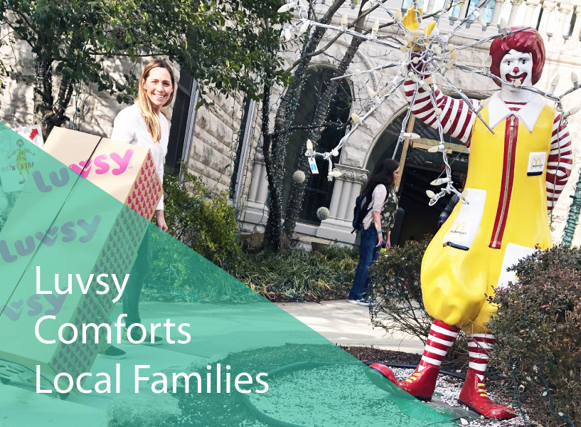 Meet Give Luv™ Recipient - Ronald McDonald House Charities