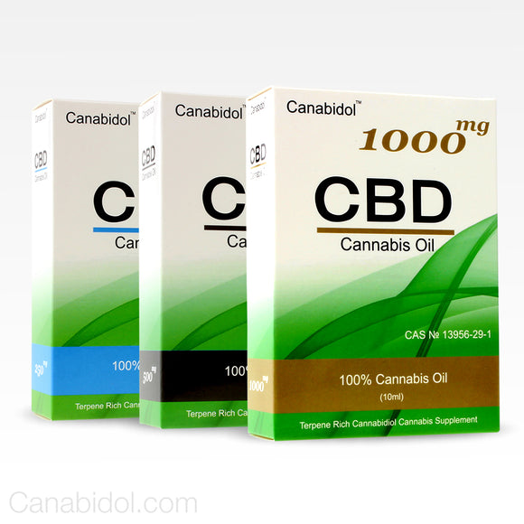 Canabidol 10ml dropper CBD Oil