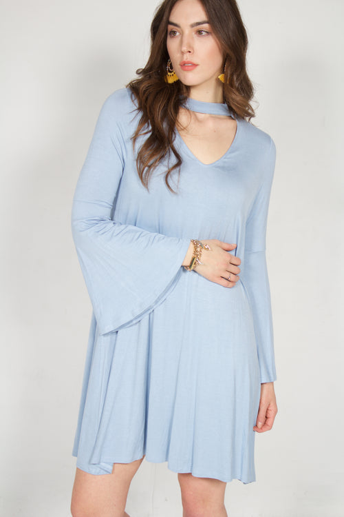 Hayden Dress (Baby Blue)