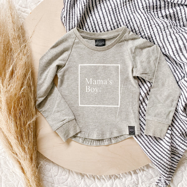 Mama's Boy Long Sleeve Shirt