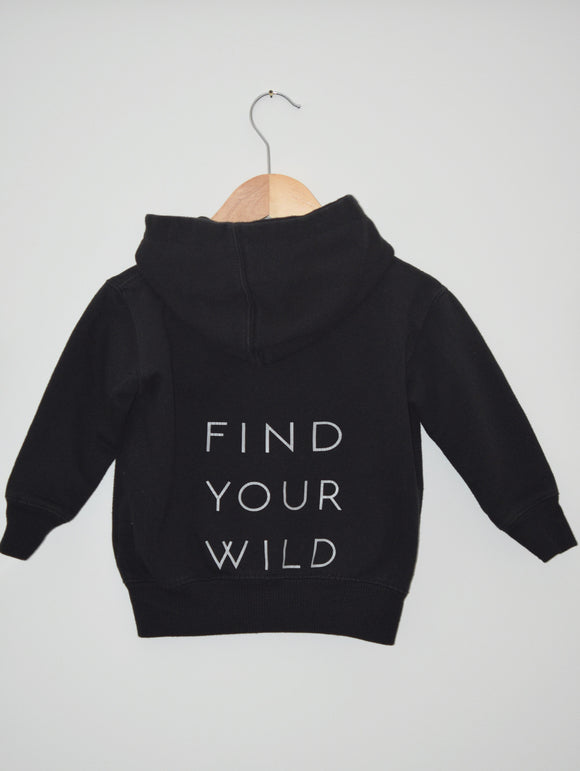 Find Your Wild. [Hooded Sweater]