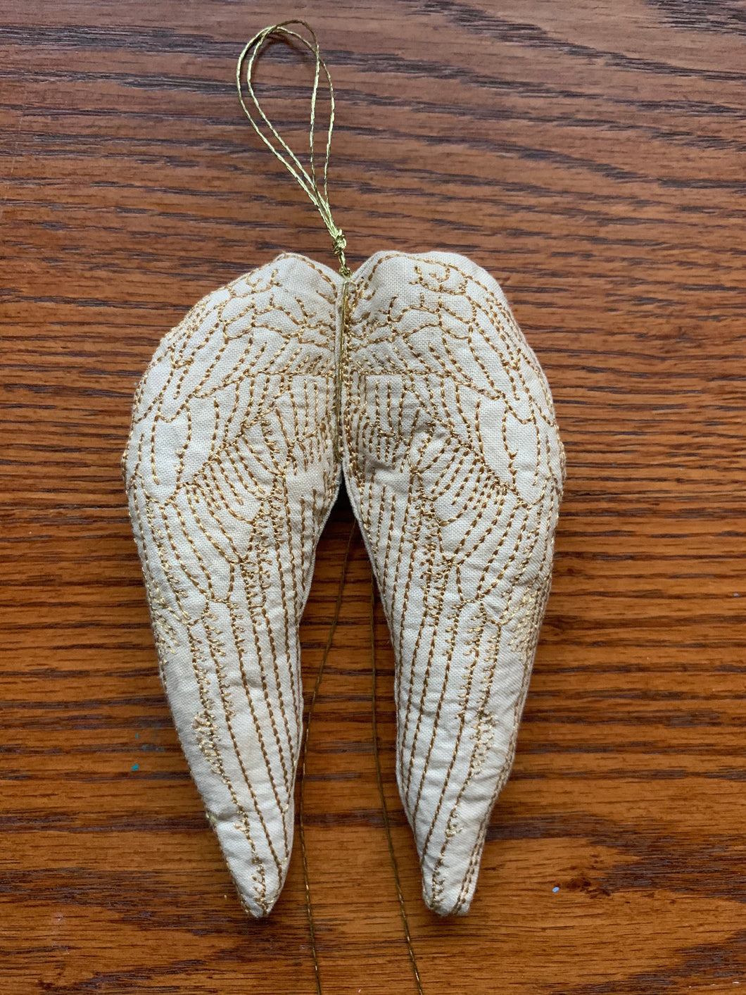 Embroidered Cotton Wings