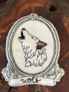 Embroidered Wolf Spirit Guide