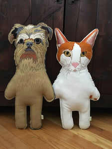 Custom Felt Dog Replica- Large