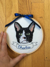 Custom Cat Portrait-Embroidery