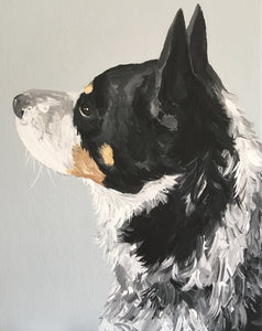 11 x 14 Custom Dog Portrait