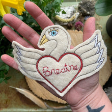 Embroidered Birds of Encouragement Patch