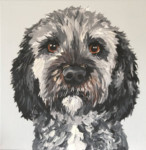 8 x 10 Custom Dog Portrait