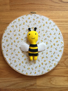 Felt Stuffed Honeybee