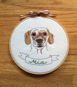 Custom Dog Embroidery