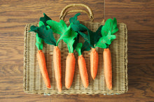 Felt Stuffed Carrots-  Bunch of 3