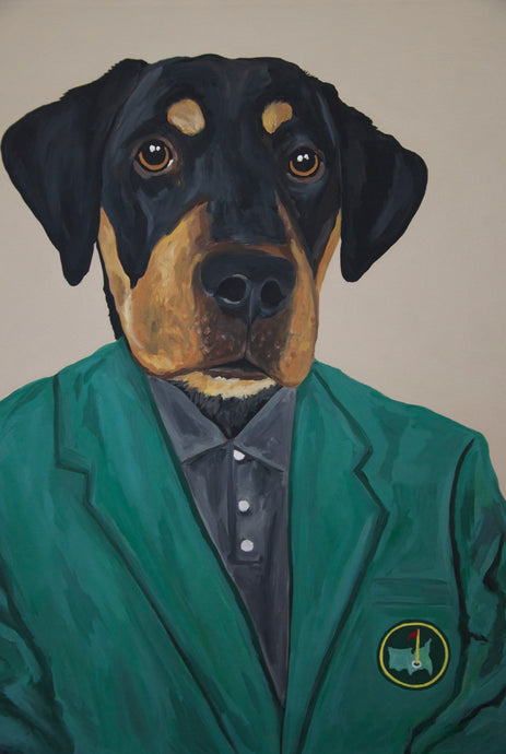 Custom Dog Portrait- Special Projects