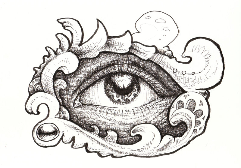 Eye Five Original Drawing