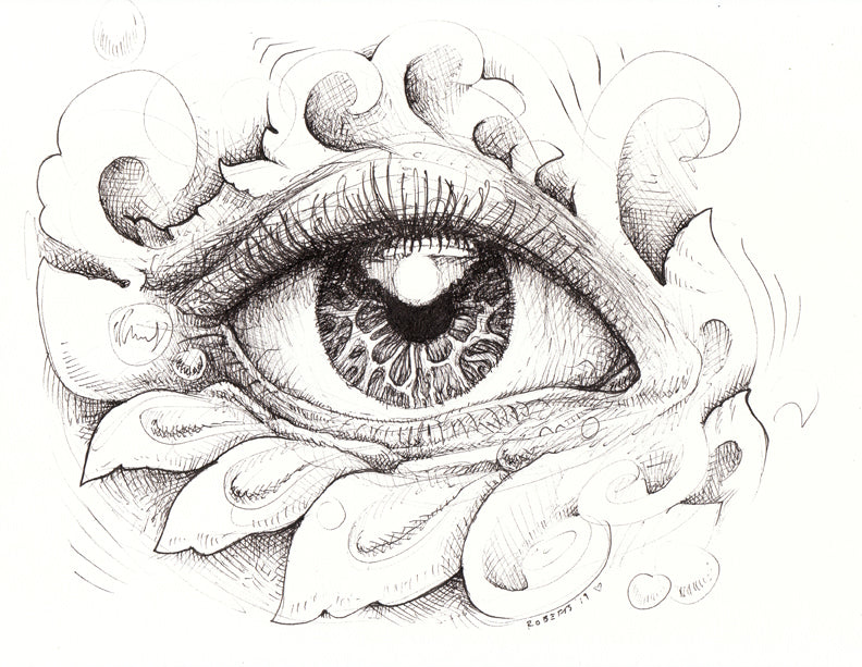 Eye Love You Original Drawing