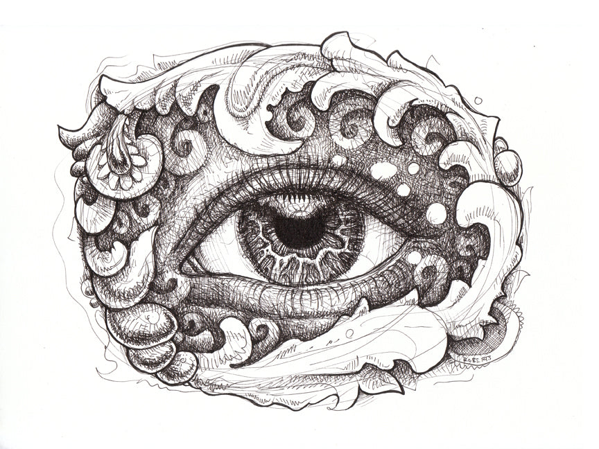 Eye Get It Original Drawing