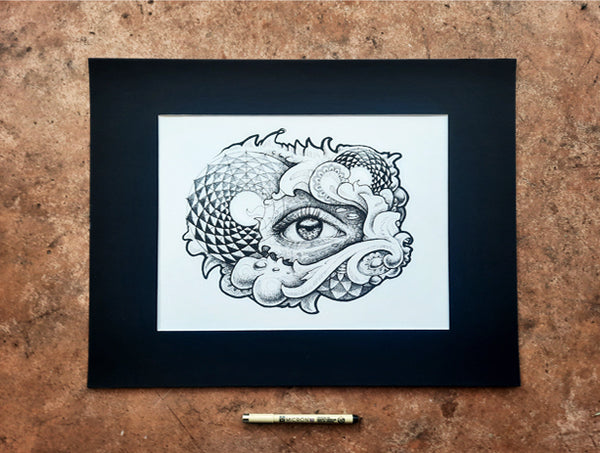 Eye & Mighty Original Drawing