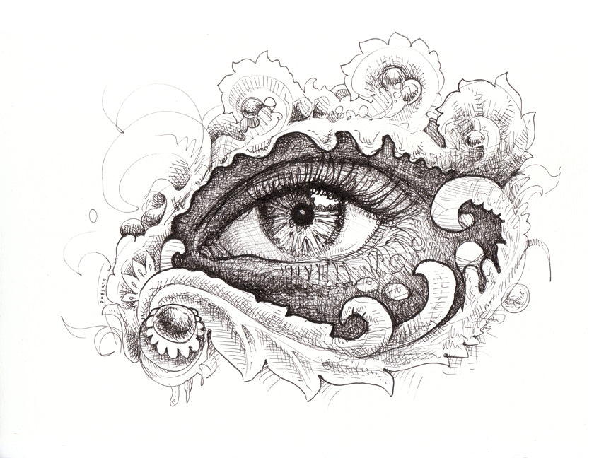 Eye Believe Original Drawing