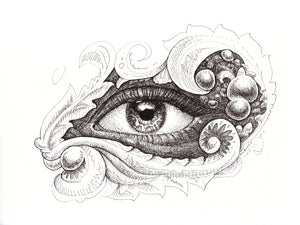 Eye Fidelity Original Drawing
