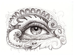 Eye Like It Original Drawing