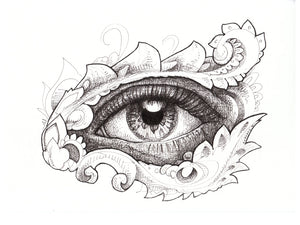 Eye Wish Original Drawing