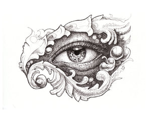 Eye Wonder Original Drawing