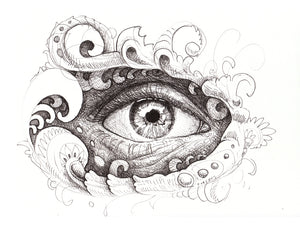 Eye & I Original Drawing