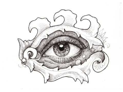 Eye Am That Original Drawing