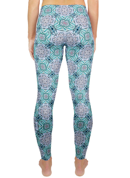 Fawkes Pattern Active Leggings