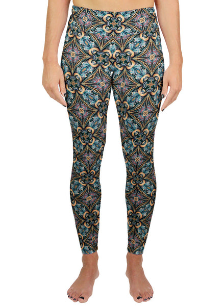 Solstice Pattern Active Leggings