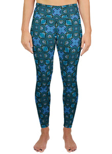 Nauticalicious Pattern Active Leggings