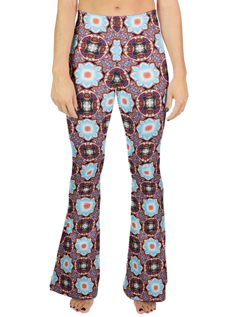 Watts Pattern Bell Leggings