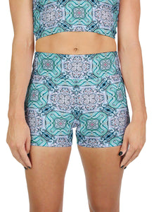 Fawkes Pattern Active Shorts