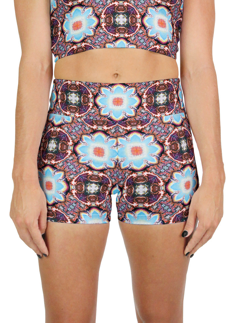 Watts Pattern Active Shorts