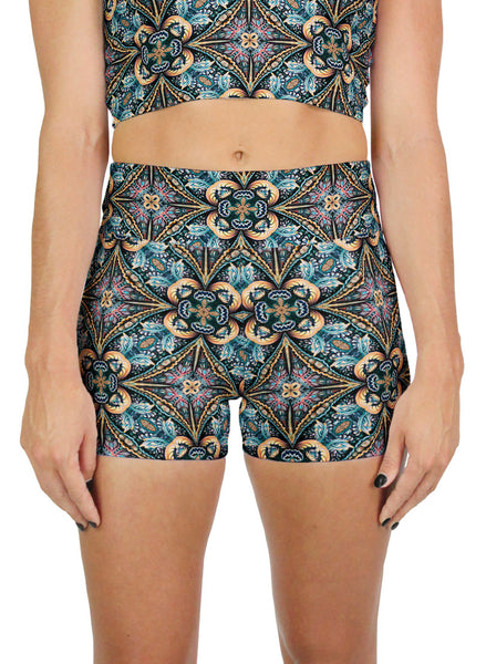 Solstice Pattern Active Shorts