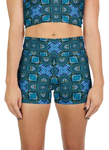 Nauticalicious Pattern Active Shorts