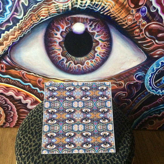"""Reflection"" Blotter Art"