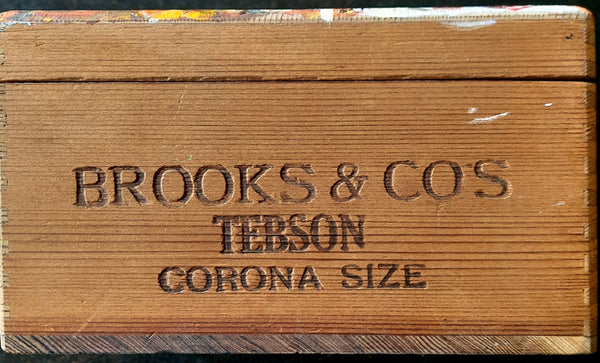 """Corona Size"" - Original Painting / Stash Box"