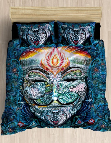 """Fawkes"" Queen Bed Set"