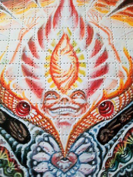 Fawkes Blotter Art  - Special 2020 Limited Edition - Signed and Numbered