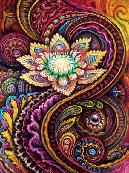 """Flower Power"" Tapestry"