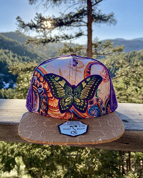 Butterfly Purple Grassroots Hat