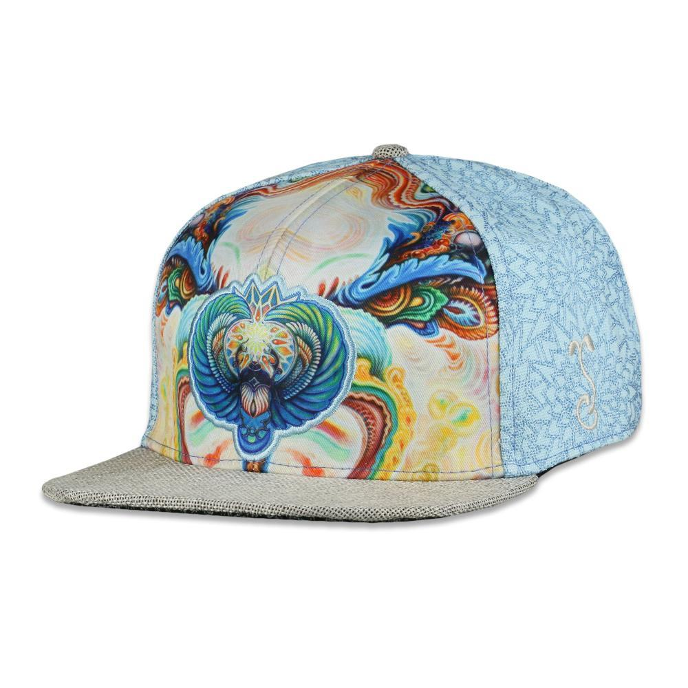 Scarab Blue Grassroots Hat